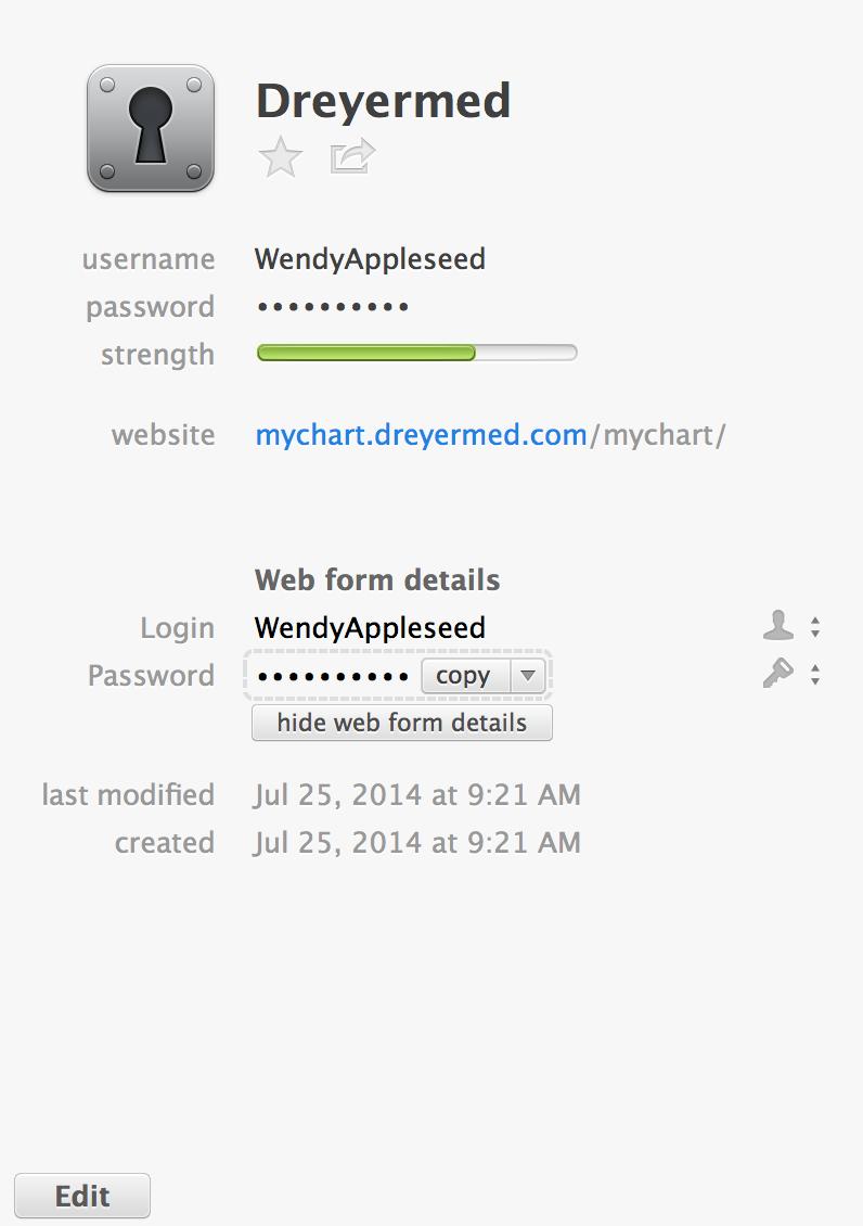 Username Not Filled On Mychart Dreyermed Com Resolved Save New